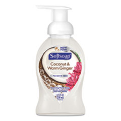 Softsoap® Sensorial Foaming Hand Soap, 8.75 oz Pump Bottle, Coconut and Warm Ginger, 6/Carton