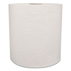 "Morcon Tissue Morsoft Universal Roll Towels, 8"" x 800 ft, White, 6 Rolls/Carton"