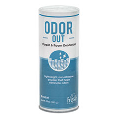 Fresh Products Odor-Out Rug/Room Deodorant, Bouquet, 12 oz, Shaker Can, 12/Box