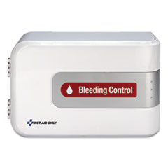 First Aid Only™ Bleeding Control Cabinet - Texas Mandate, 10.75 x 16.13 x 5.75