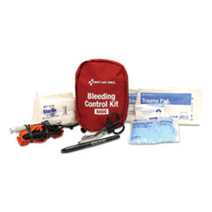 First Aid Only™ Basic Pro Bleeding Control Kit, 5 x 7 x 4