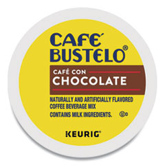 Café Bustelo Café con Chocolate K-Cups, 24/Box