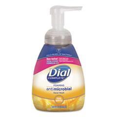 Dial® Professional Antimicrobial Foaming Hand Wash, Light Citrus, 7.5 oz Pump Bottle, 8/Carton
