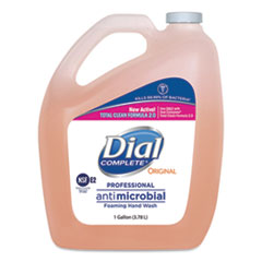 Dial® Professional Antimicrobial Foaming Hand Wash, Original Scent, 1gal., 4/Carton
