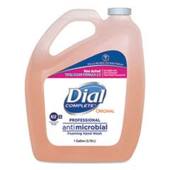 Dial® Professional Antimicrobial Foaming Hand Wash, Original Scent, 1 gal., 4/Carton