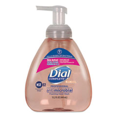 Dial® Professional Antimicrobial Foaming Hand Wash, Original Scent, 15.2 oz Pump Bottle