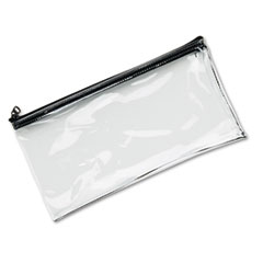 MMF Industries™ Clear Vinyl Zippered Wallet Thumbnail