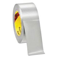 """3M™ 425 Aluminum Foil Tape, 3"""" Core, 2"""" x 60 yds, Silver"""