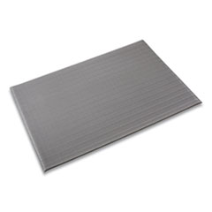 Crown Ribbed Vinyl Anti-Fatigue Mat, 24 x 36, Gray