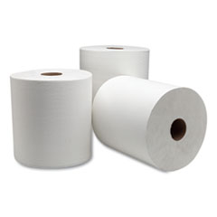 "Tork® Advanced Hardwound Roll Towel, 7.88"" x 1000 ft, White, 6 Rolls/Carton"