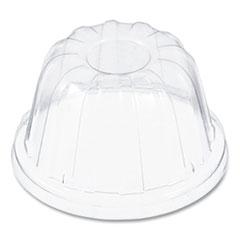 Dart® D-T Sundae/Cold Cup Lids, Fits Foam Cups, Clear, 1,000 lids/CT, 50/PK, 20PK/CT