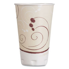 Dart® Symphony Design Trophy Foam Hot/Cold Drink Cups, 16 oz, 50/Pack, 15 Packs/Carton