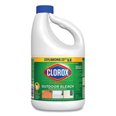 Clorox® Outdoor Bleach, 81 oz Bottle, 6/Carton