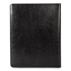 Bond Street, Ltd. Leather Padfolio, Writing Pad, Black