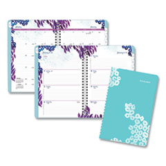 AT-A-GLANCE® Wild Washes Weekly/Monthly Planner, 8.5 x 5.5, Floral, Animal, 2021