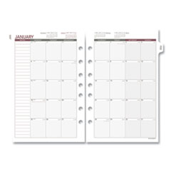 AT-A-GLANCE® Day Runner® Monthly Planning Pages, 8.5 x 5.5, 2021