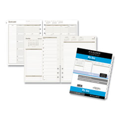 AT-A-GLANCE® Day Runner® Two-Pages-Per-Day Planning Pages Refill, 11 x 8.5, 2021