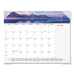 AT-A-GLANCE® Landscape Panoramic Desk Pad, 22 x 17, Landscapes, 2022