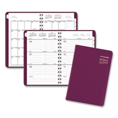 AT-A-GLANCE® Contemporary Academic Planner, 8 x 4.88, Purple, 2020-2021