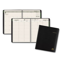 AT-A-GLANCE® Recycled Weekly/Monthly Appointment Book