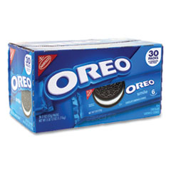 Nabisco® Oreo Cookies Single Serve Packs, Chocolate, 2 oz Pack, 30/Box, Free Delivery in 1-4 Business Days
