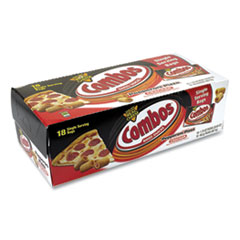 Combos® Combos Baked Snacks, Pepperoni Pizza Cracker, 1.7 oz Bag, 18/Carton, Free Delivery in 1-4 Business Days