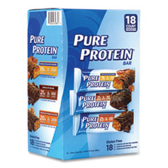 Balance Bar® Pure Protein Bar, Assorted Flavors, 1.76 oz Bar, 18 Bars/Carton, Free Delivery in 1-4 Business Days
