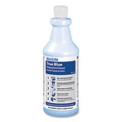 Maxim® True Blue Clinging Bowl Cleaner, Mint Scent, 32 oz Bottle, 12/Carton