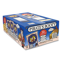 Pirate's Booty® Puffs, Aged White Cheddar, 0.5 oz Bag, 36/Box, Free Delivery in 1-4 Business Days