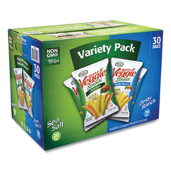 Sensible Portions® Veggie Straws, Sea Salt/Zesty Ranch, 1 oz Bag, 30 Bags/Carton, Free Delivery in 1-4 Business Days