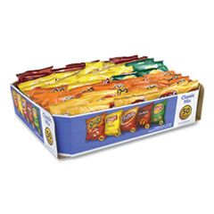Frito-Lay Potato Chips Bags Variety Pack, Assorted Flavors, 1 oz Bag, 50 Bags/Carton, Free Delivery in 1-4 Business Days