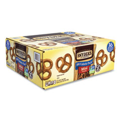 Snyder's® Mini Pretzels, Mini, 0.92 oz Bags, 60 Bags/Carton, Free Delivery in 1-4 Business Days