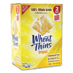 Nabisco® Wheat Thins Crackers, Original, 20 oz Bag, 2 Bags/Box, Free Delivery in 1-4 Business Days