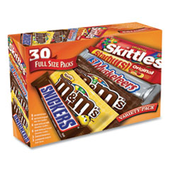 MARS Full-Size Candy Bars Variety Pack