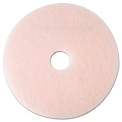 "3M™ Ultra High-Speed Eraser Floor Burnishing Pad 3600, 19"" Diameter, Pink, 5/Carton"