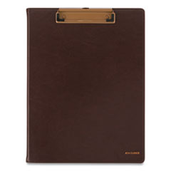 AT-A-GLANCE® Signature Collection Monthly Clipfolio, 11 x 8, Distressed Brown, 2021