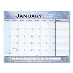 AT-A-GLANCE® Slate Blue Desk Pad, 22 x 17, Slate Blue , 2022