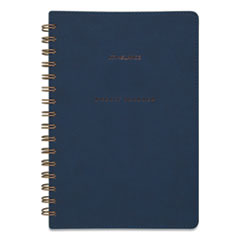 AT-A-GLANCE® Signature Collection Firenze Navy Weekly/Monthly Planner, 8.5 x 5.5, 2021-2022