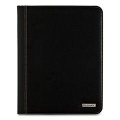 AT-A-GLANCE® Executive Monthly Padfolio, 11 x 9, White, 2021