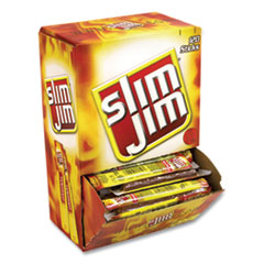 Slim Jim® Beef Jerky Meat Sticks Original, 0.28 oz Stick, 120 Sticks/Box, Free Delivery in 1-4 Business Days