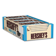 Hershey®'s Cookies 'n' Creme Candy Bar, 1.55 oz Bar, 36 Bars/Carton, Free Delivery in 1-4 Business Days
