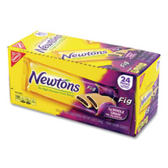 Nabisco® Fig Newtons, 2 oz Pack, 2 Cookies/Pack 24 Packs/Box, Free Delivery in 1-4 Business Days