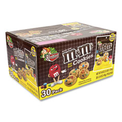 Keebler® Mini Cookie Snack Packs, Chocolate Chip/MandMs, 1.6 oz Pouch, 30 Pouches/Carton, Free Delivery in 1-4 Business Days