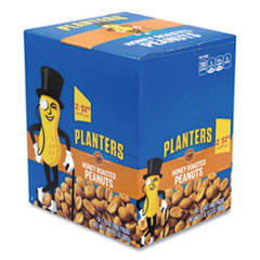 Planters® Honey Roasted Peanuts, 1.75 oz Tube, 18/Box, Free Delivery in 1-4 Business Days