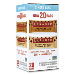 Larabar™ The Original Fruit and Nut Food Bar, Assorted Flavors, 1.6 oz Bar, 20 Bars/Box, Free Delivery in 1-4 Business Days