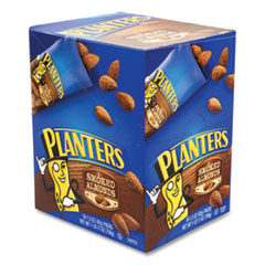 Planters® Smoked Almonds, 1.5 oz Pack, 18 Packs/Box, Free Delivery in 1-4 Business Days