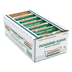 Krispy Kreme® Powdered Sugar Doughnuts, 3 oz Pack, 12 Packs/Box, Free Delivery in 1-4 Business Days