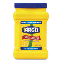 ARGO Corn Starch, 35 oz Resealable Tub, Free Delivery in 1-4 Business Days
