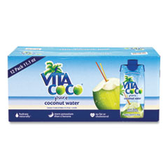 Vita Coco® Pure Coconut Water, 11.1 oz Box, 12/Box, Free Delivery in 1-4 Business Days