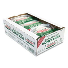 Krispy Kreme® Jumbo White Iced Honey Bun, 5 oz Pack, 9 Packs/Box, Free Delivery in 1-4 Business Days